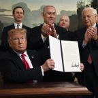 Trump signs declaration formally recognising Israeli sovereignty over Golan Heights