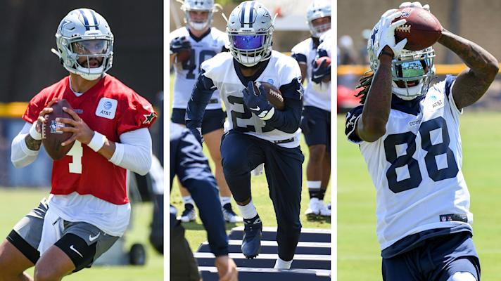 Dak, Zeke and CeeDee stand out at Cowboys' Camp