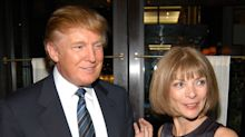 Anna Wintour says Donald Trump is the one celebrity she'll never invite back to the Met Gala