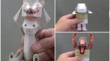 【有片】日本神級「可動式玩具」 1日900萬瀏覽Twitter熱傳