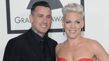 Pink Shares Sweet Birthday Message for Husband Carey Hart: 'The Strength You Have Fascinates Me'