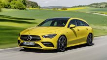 Mercedes-AMG CLA 35 Shooting Brake is a yellow tease