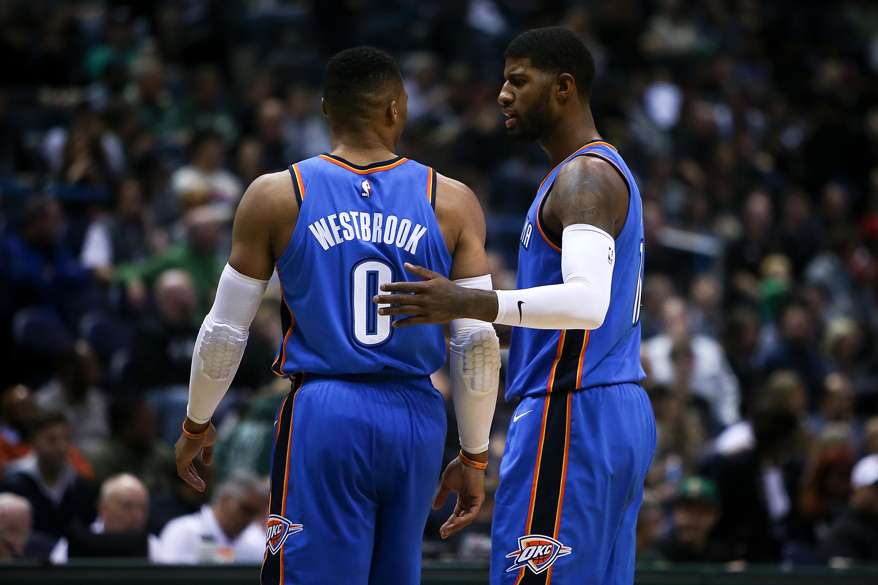 classic fit ea6af 5f7f2 NBA: Paul George's discontent with Westbrook sparked trade ...