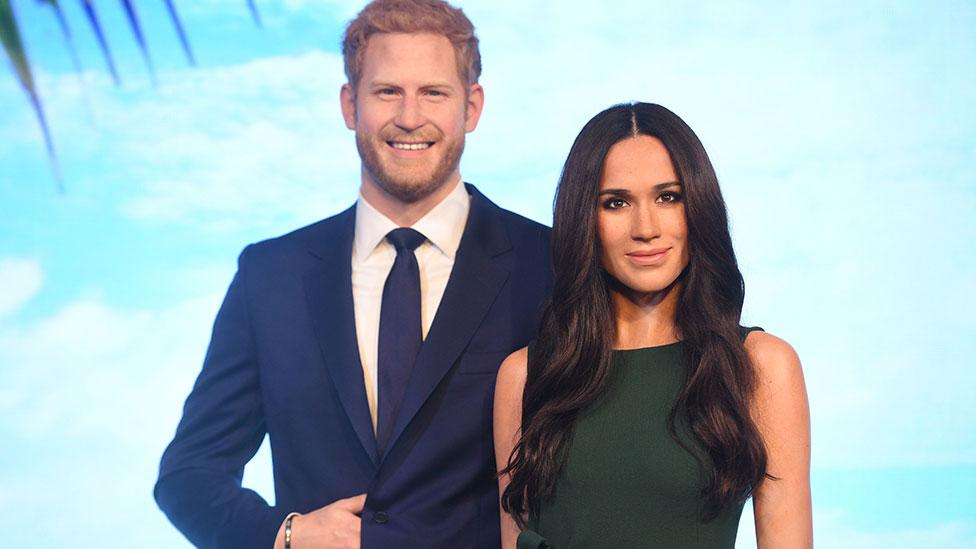 Royal fans outraged as Meghan and Harry are separated at Madame Tussauds
