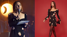 Natalie Portman hits the stage in a $380 floral dress from Reformation
