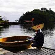 日本佐渡島 宮崎駿動漫神隱少女中的「佐渡盆舟」,好美,好夢幻。