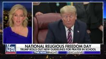 HHS secretary calls Trump 'the greatest protector of religious liberty who has ever sat in the Oval Office'