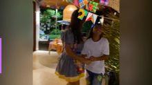 Ivete Sangalo faz festa junina em casa