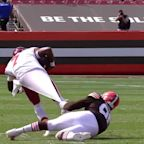 This Myles Garrett sack of Dwayne Haskins happened because of an undershirt