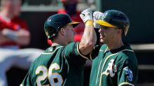 A's spring training observations: Hitters trying out virtual-reality tool