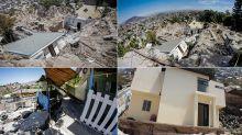 FOTOS | Falla geológica colapsa casas en Tijuana