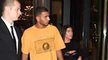 Kourtney Kardashian Wore A Bra in Paris