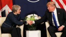 Donald Trump promises 'tremendous' UK trade increase