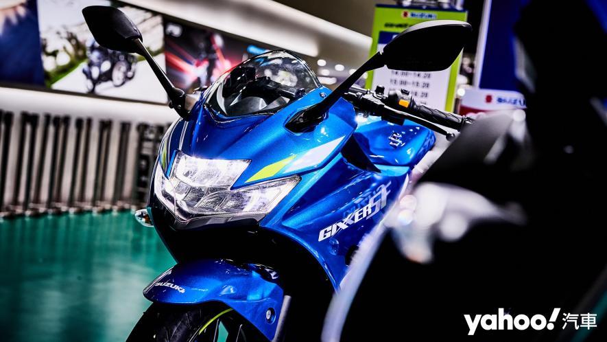 再次見面也依舊心動!2021 Suzuki Gixxer 250、SF 250台北重型機車展賞車! - 1