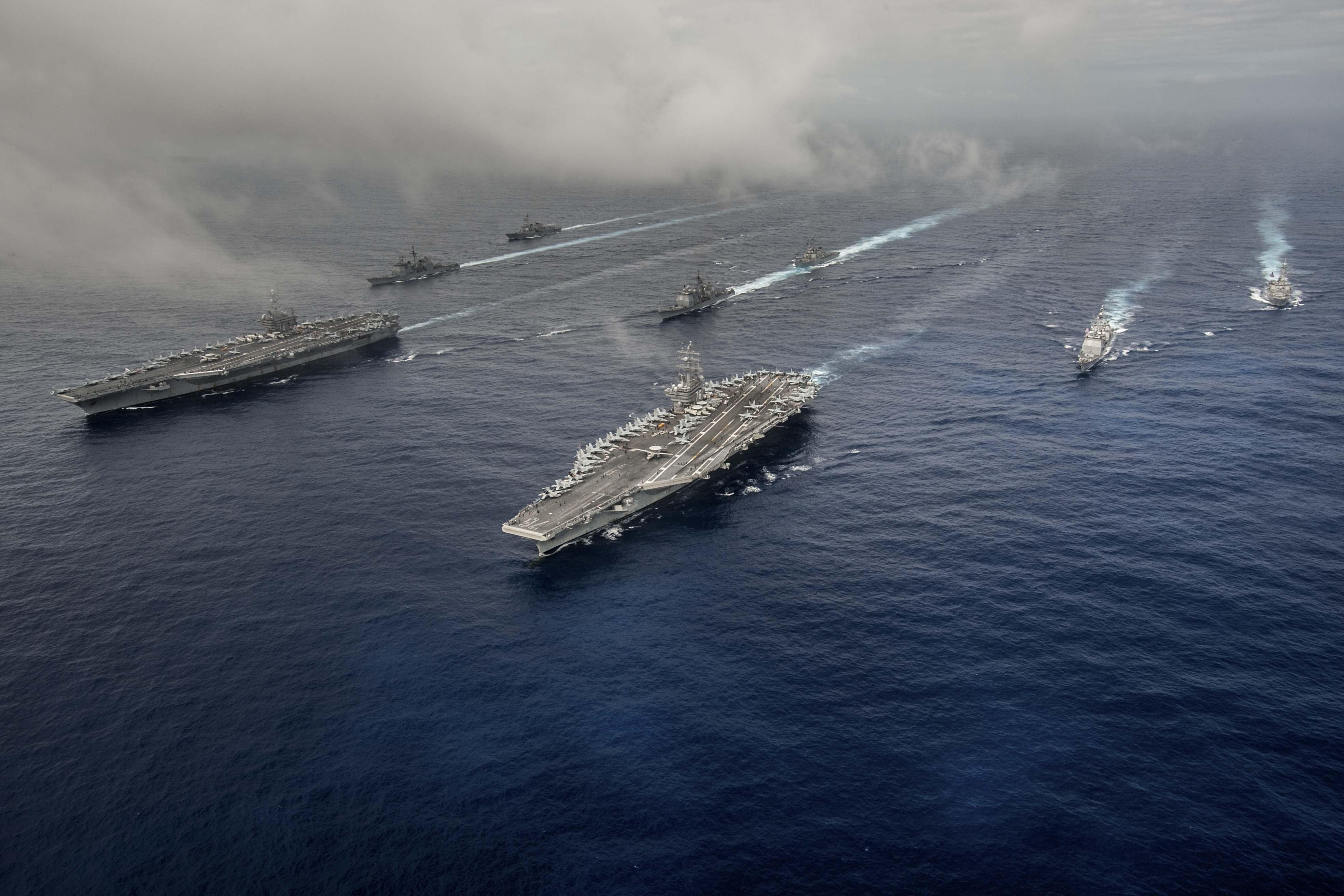 indias second aircraft carrier - HD2048×1365