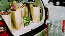 Driver oblivious to hidden danger on backseat after grocery shop