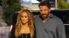 Jennifer Lopez y Ben Affleck recrean su foto más picante 20 años después