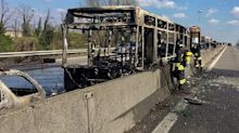 'No one is getting out of here alive': Bus driver takes 51 children hostage and sets blaze