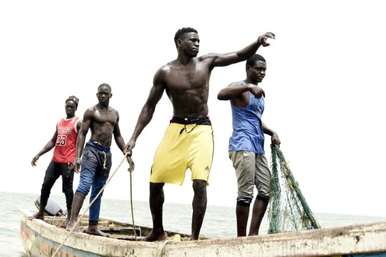 Senegalese fishermen have gone from catching turtles to protecting them (AFP Photo/Seyllou)