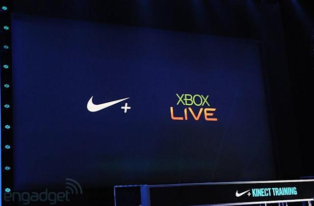Nike allies with Xbox 360 for Nike+ Kinect Training: real-time feedback, training reminders through your phone