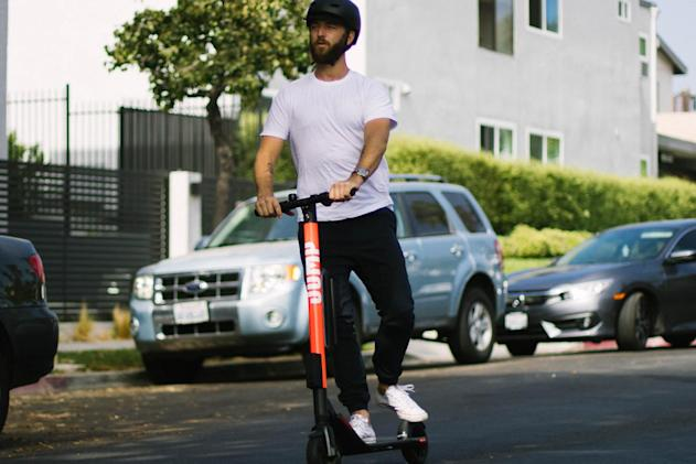 Uber launches its first electric scooter service in Santa Monica