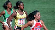 Why can't women break world records in track?