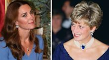 Did Kate Middleton redesign a pair of Princess Diana's favourite earrings?