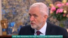 Richard Madeley accuses Jeremy Corbyn of being 'frightened of an election'