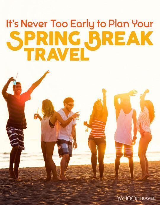 It's Never Too Early to Plan Your Spring Break Travel