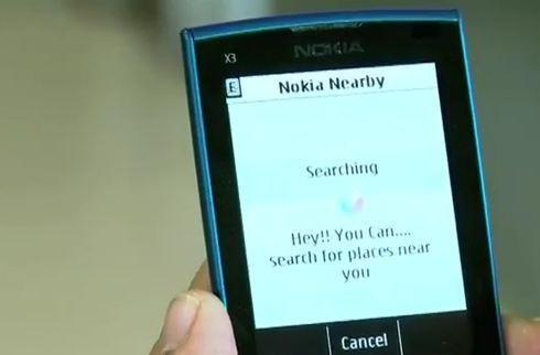 Nokia Nearby tells your S40 where the action's at