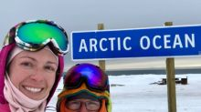 'It feels absolutely incredible to be here': 2 hikers complete epic trek to the Arctic Ocean