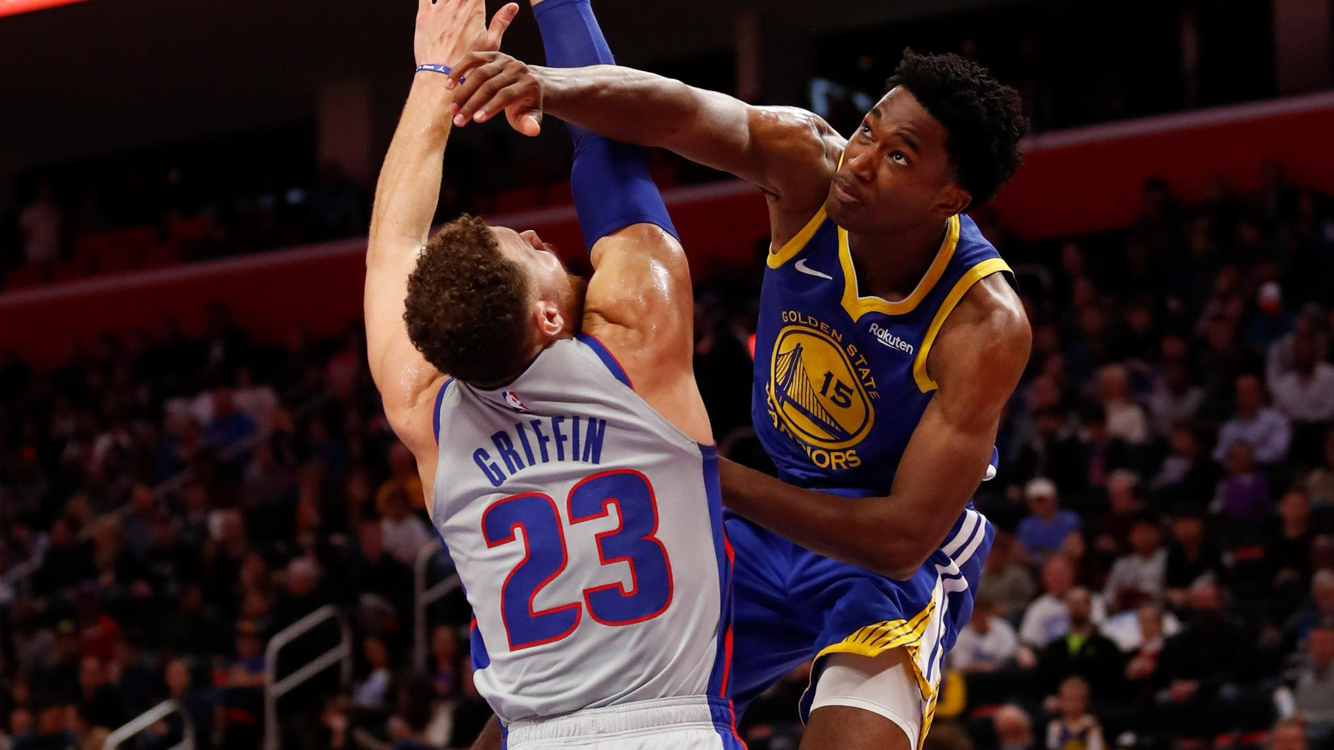 532f63a0e08 Warriors' Damian Jones cleared for contact, will play in 3-on-3 games