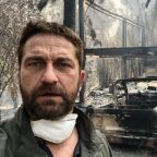 Gerard Butler's house destroyed and Julia Roberts evacuated in California Wildfires