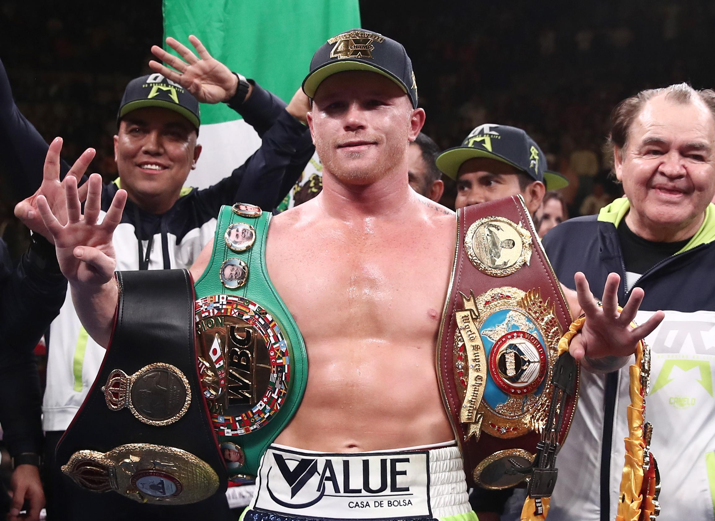 Canelo Alvarez will reportedly fight Billy Joe Saunders on May 2