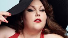 'This Is Us' Star Chrissy Metz Poses in Red Swimsuit For Pin-Up Photo Shoot
