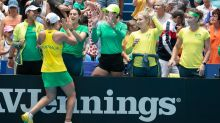Barty strikes back in France Fed Cup final