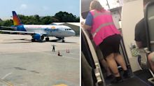 Elderly man kicked off plane after 'asking crew to put on mask'