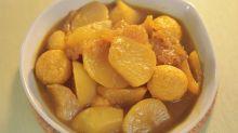 咖哩豬皮蘿蔔魚蛋