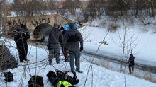 Missing woman, 22, found dead in frozen Burlington creek