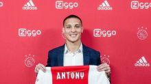 Antony é apresentado no Ajax, e diz estar 'vivendo um sonho'