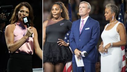 Tennis host shows up US Open in booing controversy
