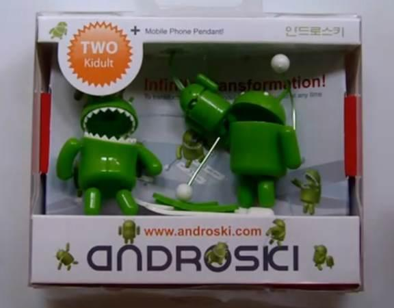 SK Telecom's Android action figures as flexible as the OS itself (video)