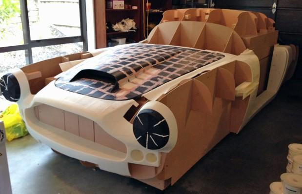 New Zealand man creating Aston Martin replica on desktop 3D printer