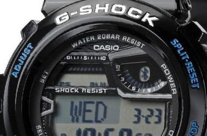 Casio's Bluetooth 4.0 G-Shock is water and shock-resistant, FCC-approved