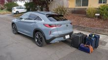 2022 Infiniti QX55 Luggage Test | The price to be paid for a coupe