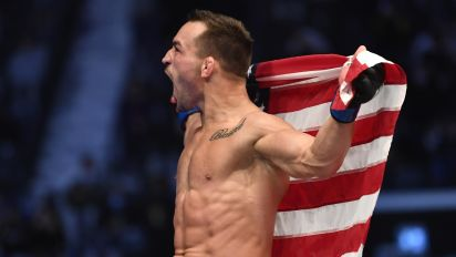 Michael Chandler wins in dynamite UFC debut