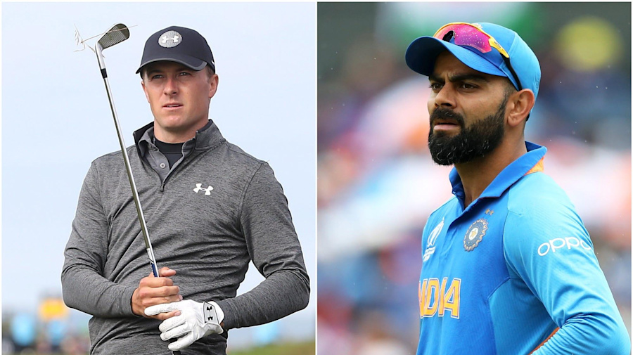 Ace for Jordan Spieth and India on top again – Saturday's sporting social