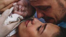 Ao se maquiar na hora do parto, Gabi Brandt gera polêmica nas redes