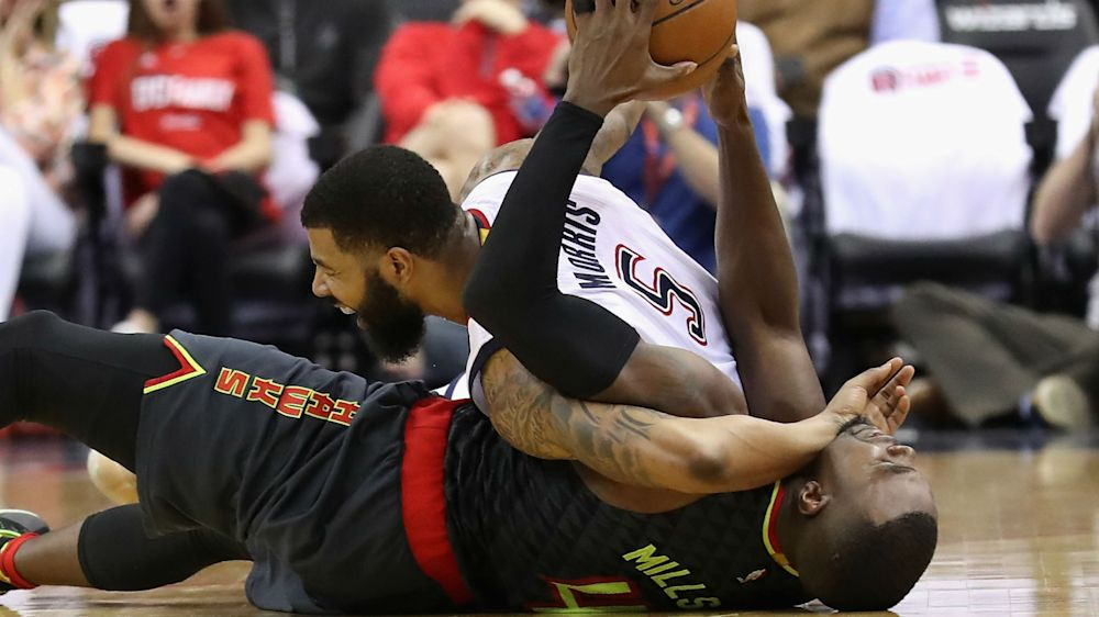 Hawks' Paul Millsap says Wizards 'were playing MMA' in Game 1 win