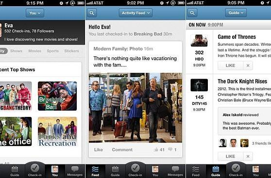 GetGlue update brings personalized guides, feeds and new ads to iPhone